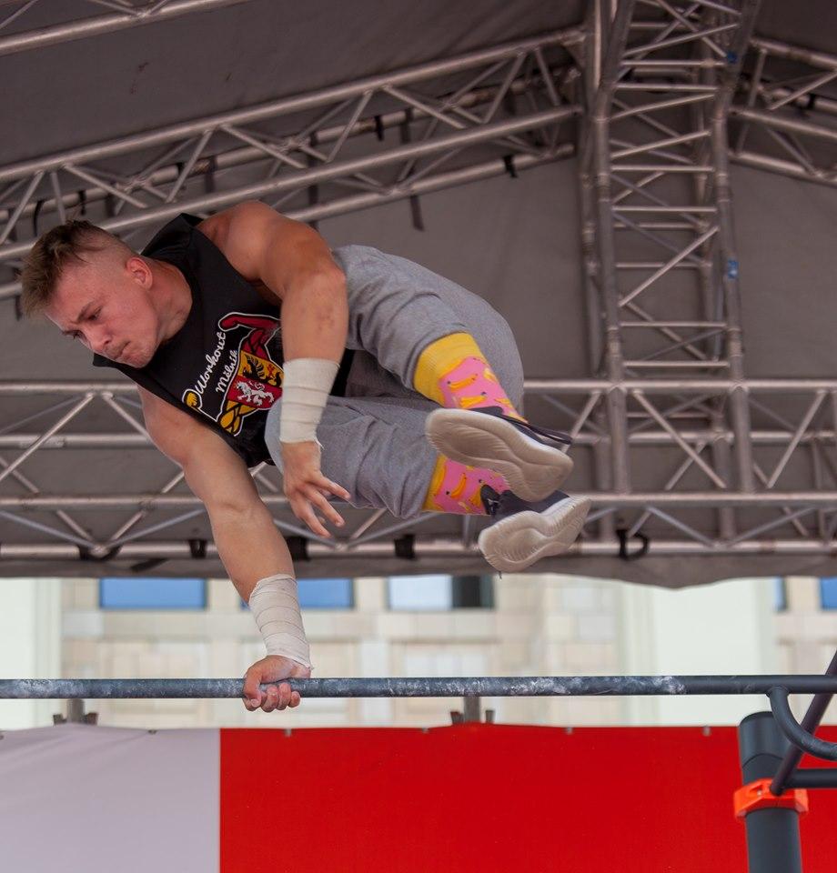 Mistrovství světa v street workoutu 2019 - český reprezentant těžké váhové kategorie