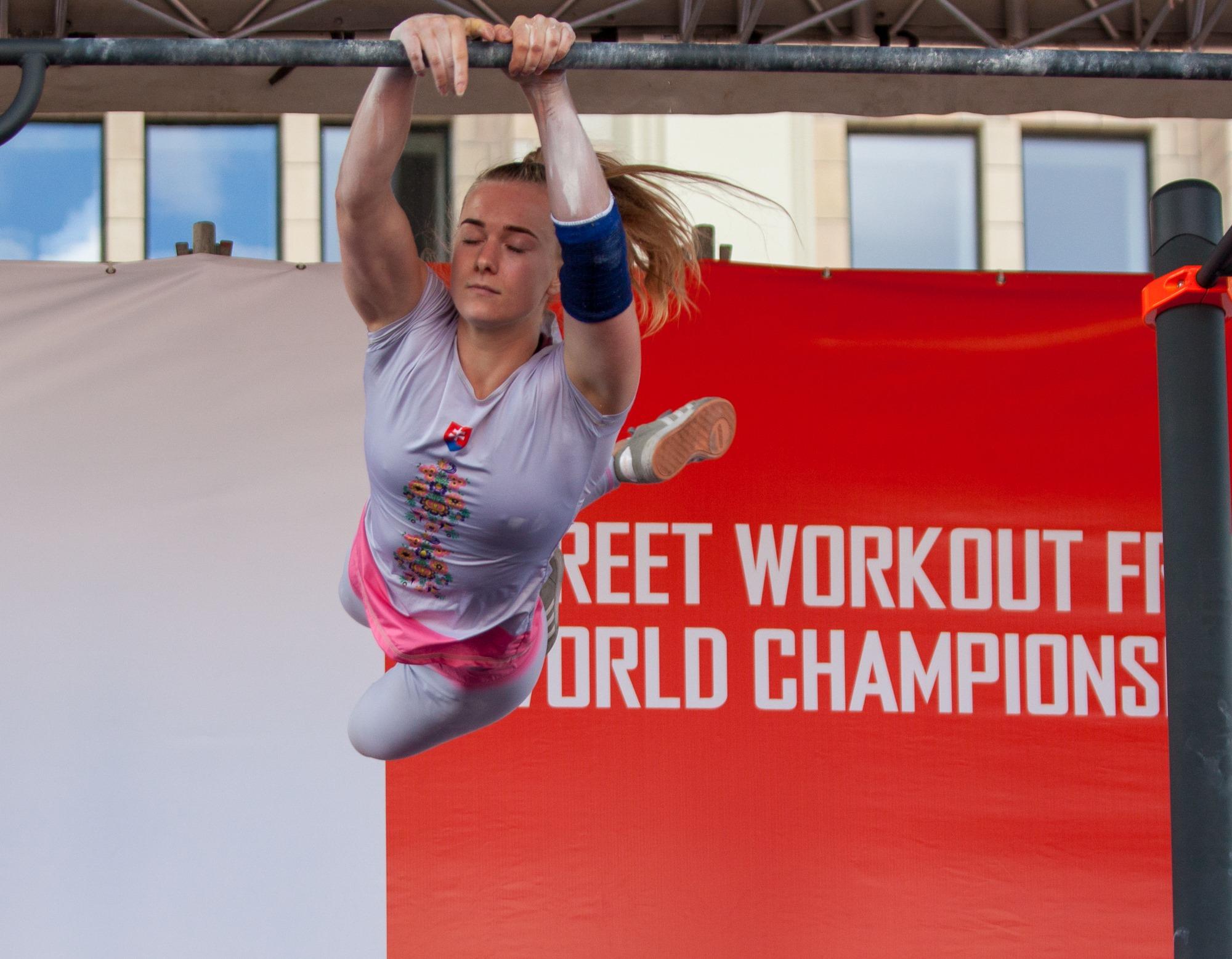Mistrovství světa ve street workoutu 2019 - bronzová medailistka