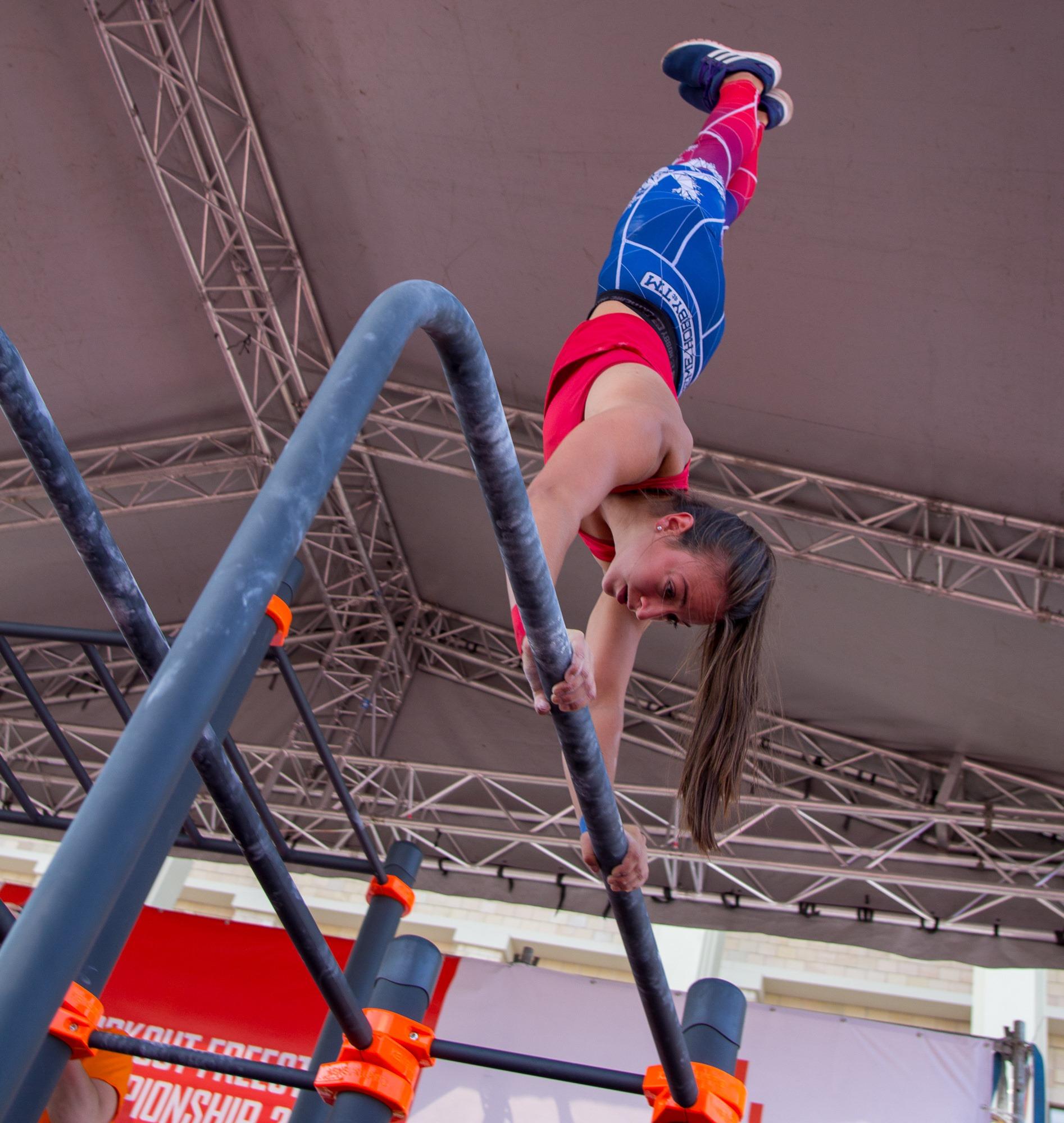 Mistrovství světa ve street workoutu 2019 - stříbrná medailistka